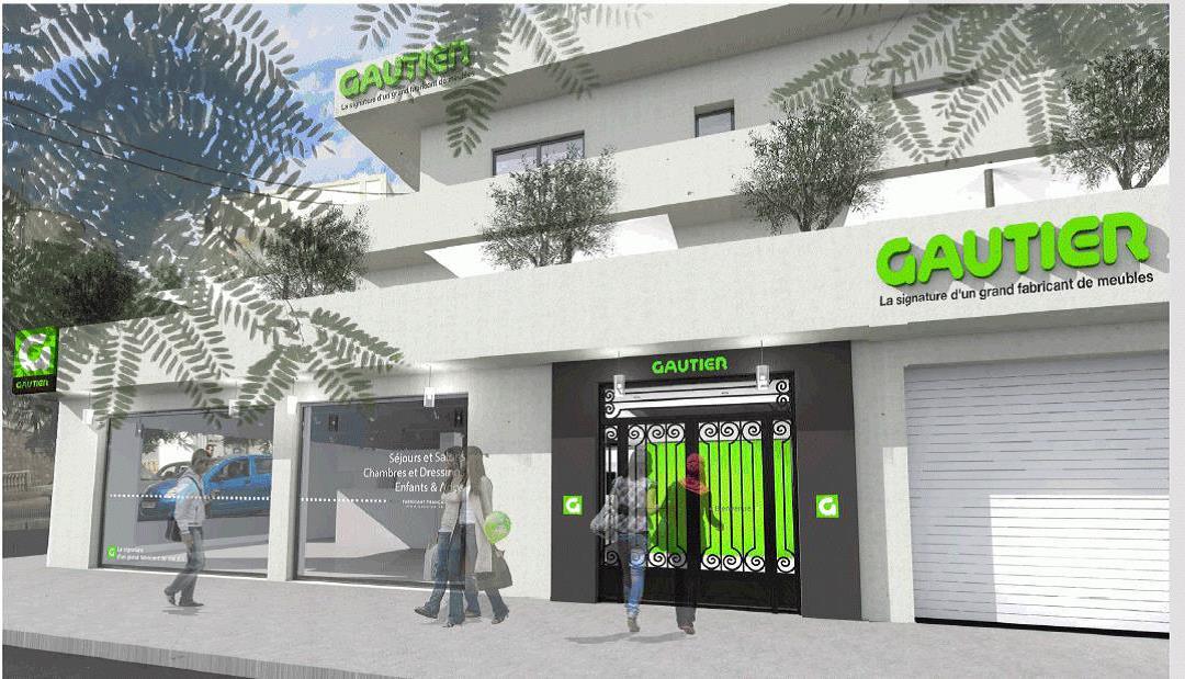 franchise au maghreb gautier ouvre son 4e point de vente alg rien alger. Black Bedroom Furniture Sets. Home Design Ideas