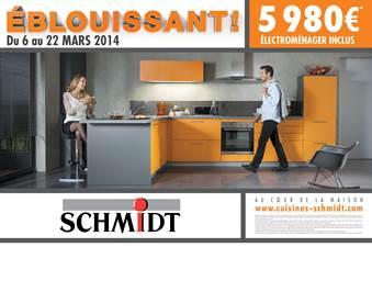 Le rseau schmidt ne mnage pas ses efforts pour sa nouvelle - Cuisines schmidt belgique ...
