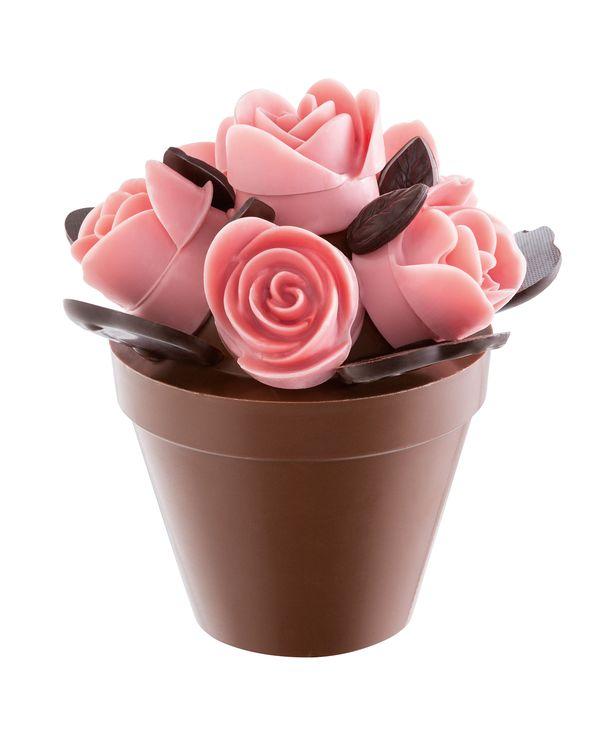 Un Bouquet De Roses En Chocolat Pour La Fete Des Meres Avec Roland
