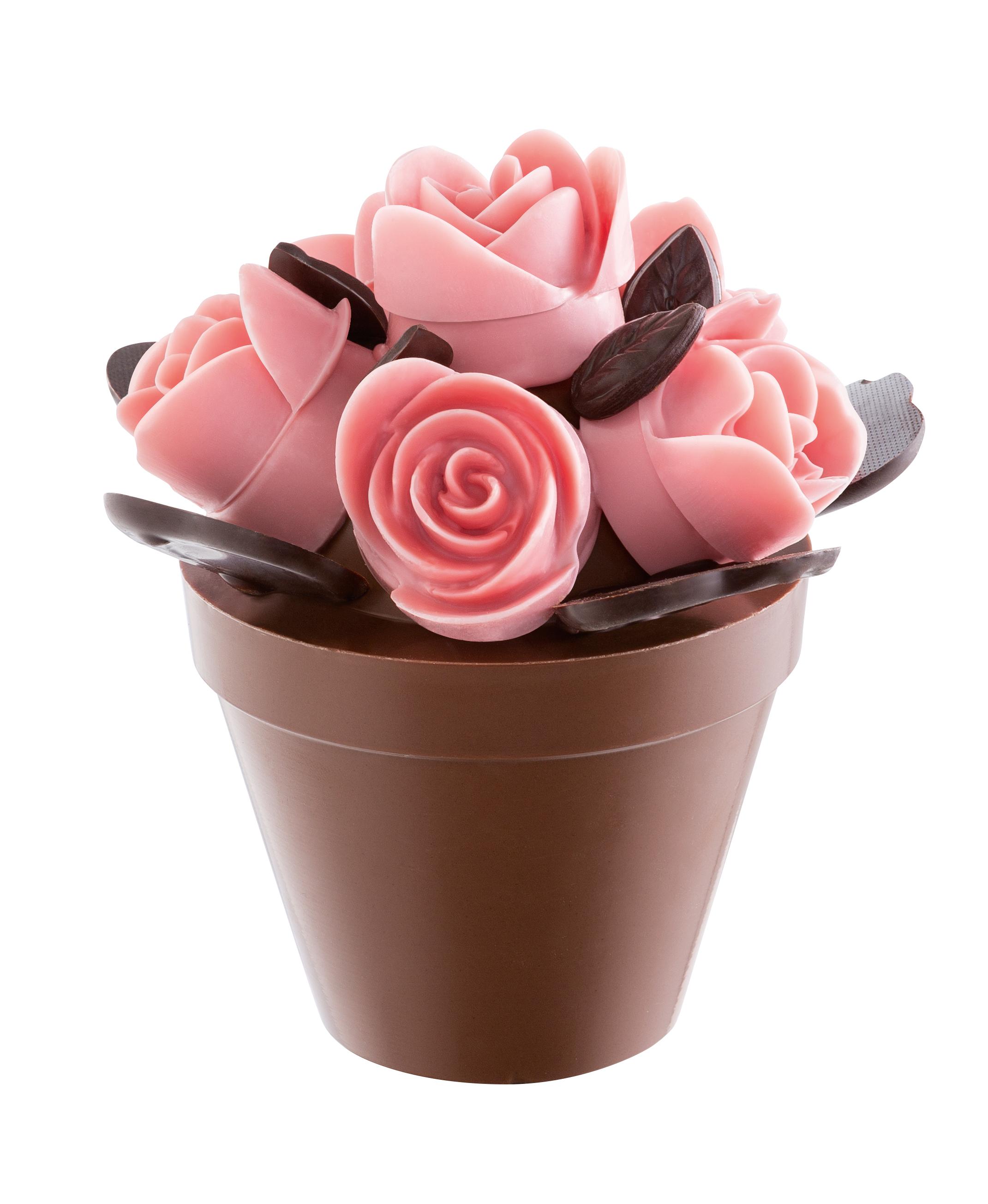 Un bouquet de roses en chocolat pour la f te des m res avec roland r aut - Quelle est la date de la fete des meres ...