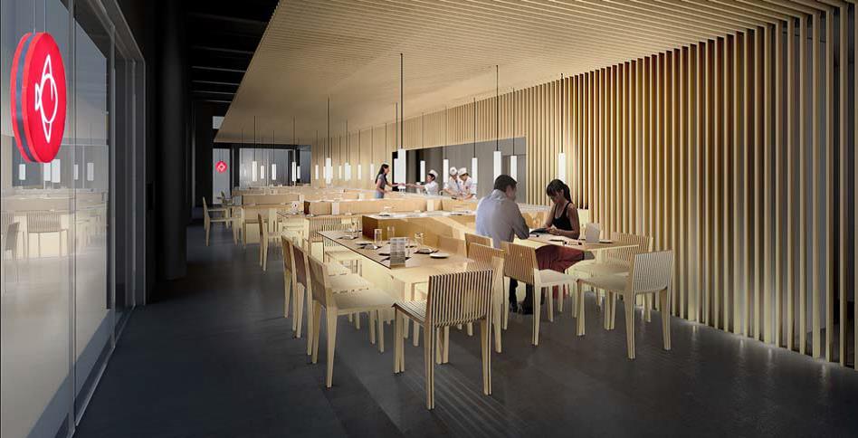 bient t un restaurant matsuri bordeaux dans l espace commercial promenade sainte catherine. Black Bedroom Furniture Sets. Home Design Ideas