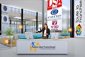Plus de visiteurs pour la 5e dition du salon virtuel for Salon virtuel de la franchise
