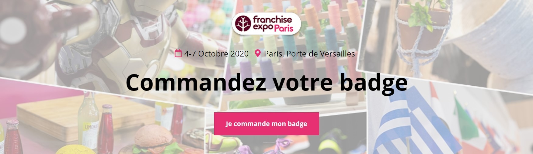 Franchise Expo Paris 2020 badge