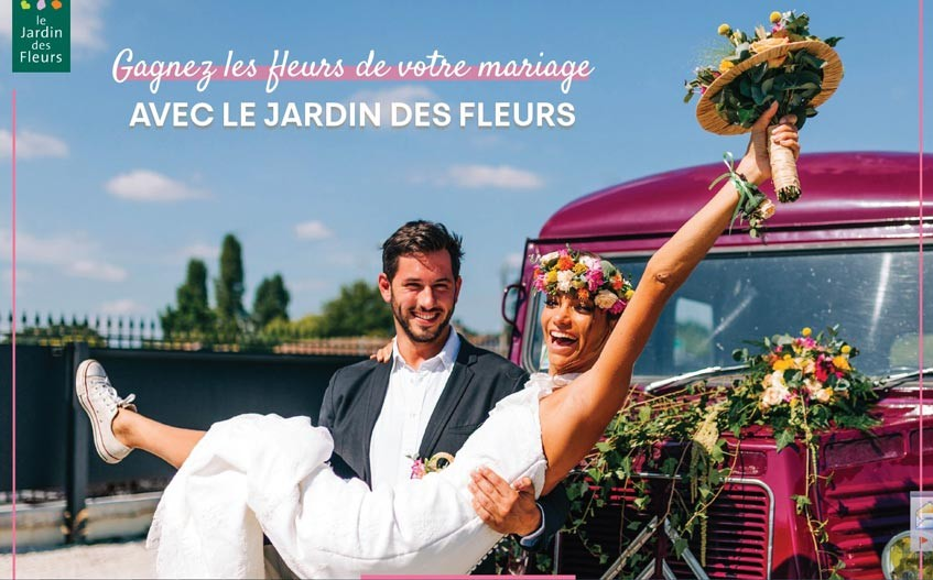 Le Jardin des Fleurs organise un grand jeu concours exceptionnel ...