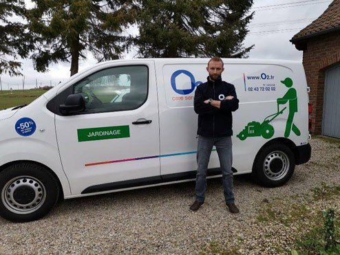 O2 Care Services : Bertrand Franek a rejoint la franchise à Orchies