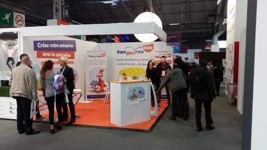 Le rseau kangourou kids pense dj franchise expo paris 2017 for Salon de la franchise paris 2017