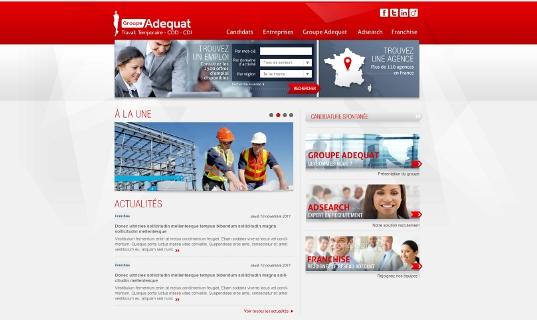 une nouvelle vitrine web pour le r u00e9seau ad u00e9quat
