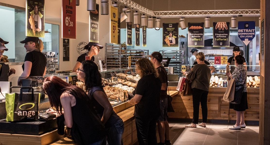Carte Boulangerie Ange.Boulangerie Ange Releve Le Defi De L Installation En Centre Ville A