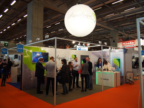 Stand aqualogio sur le Salon Jet Expo Paris 2015