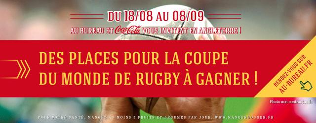 La coupe du monde de rugby se prpare au bureau - Place pour la coupe du monde de rugby 2015 ...