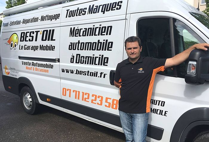 Franchise Best'Oil Bassanne Bordeaux garage à domicile
