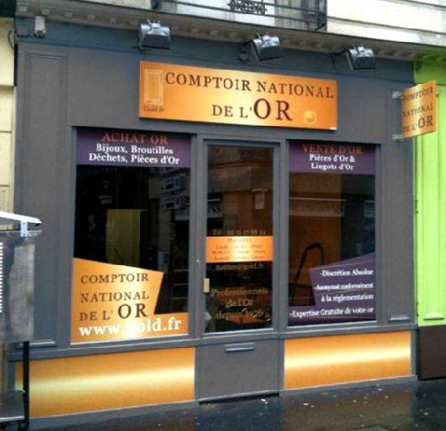 La 60e agence comptoir national de l or ouvre ses portes - Le comptoir du soin nantes ...