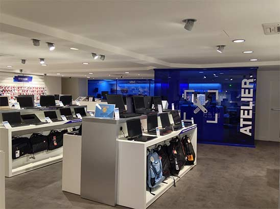 Magasin informatique LDLC