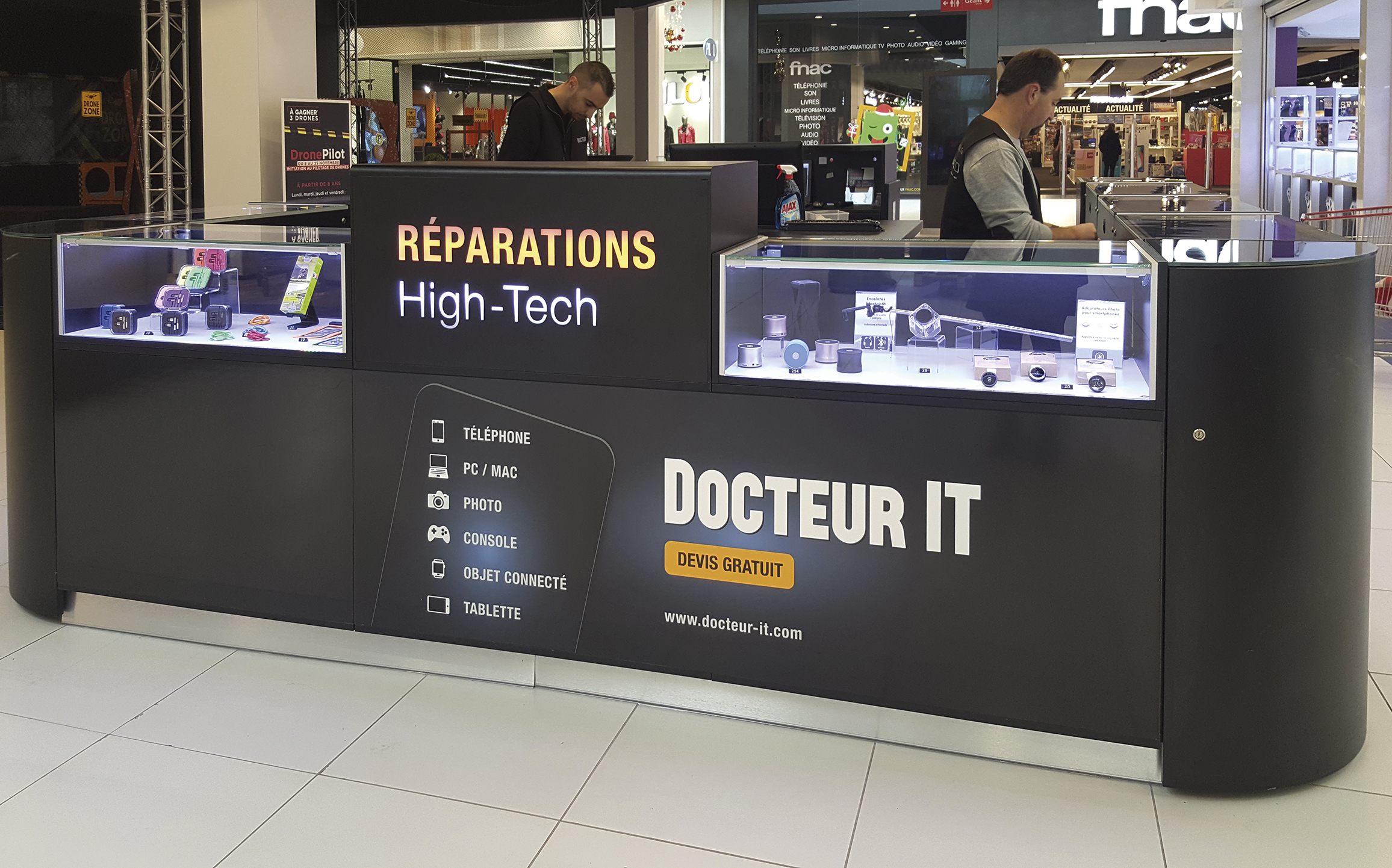 boutique Docteur IT en centre commercial