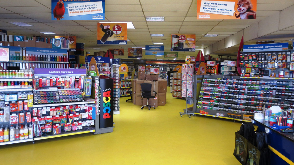 Bureau vallée ouvre un nouveau magasin à salon de provence