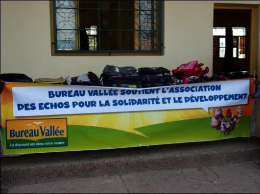 Bureau valle s 39 investit pour l 39 association les echos pour for Bruno fourniture de bureau