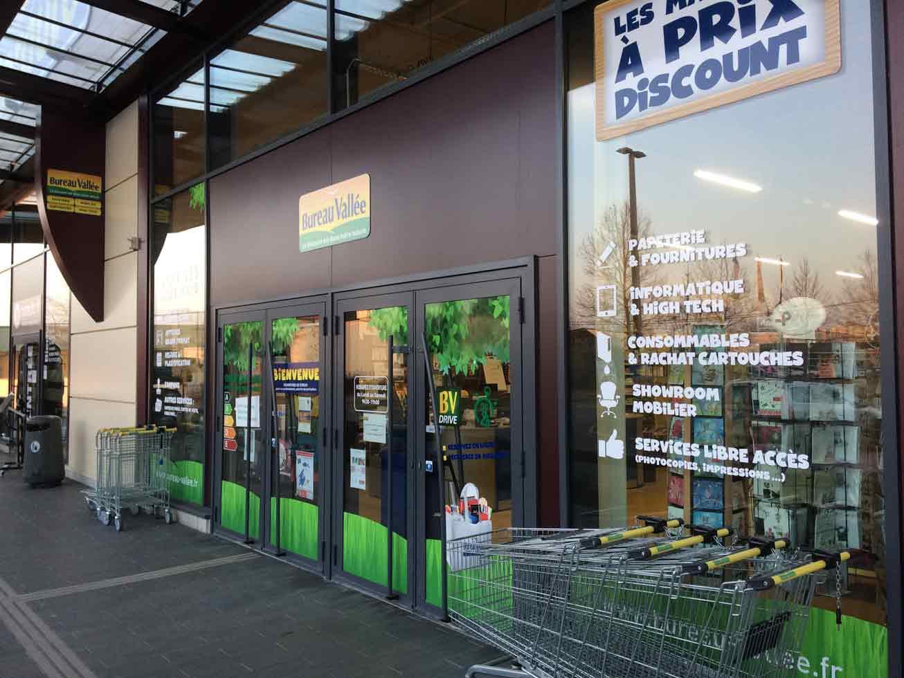 bureau vallée ouvre un nouveau magasin à vichy