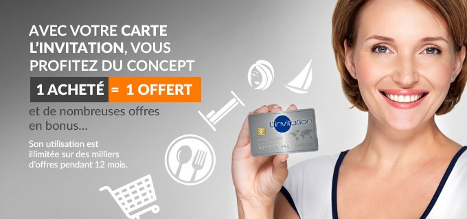 Carte promotionnelle L'Invitation