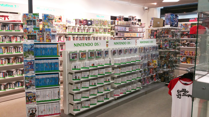 rayon nintendo DS magasin gamecash