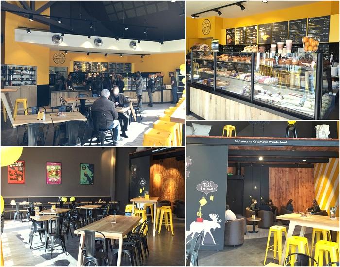 columbus caf ouvre au sein du nouveau centre commercial. Black Bedroom Furniture Sets. Home Design Ideas