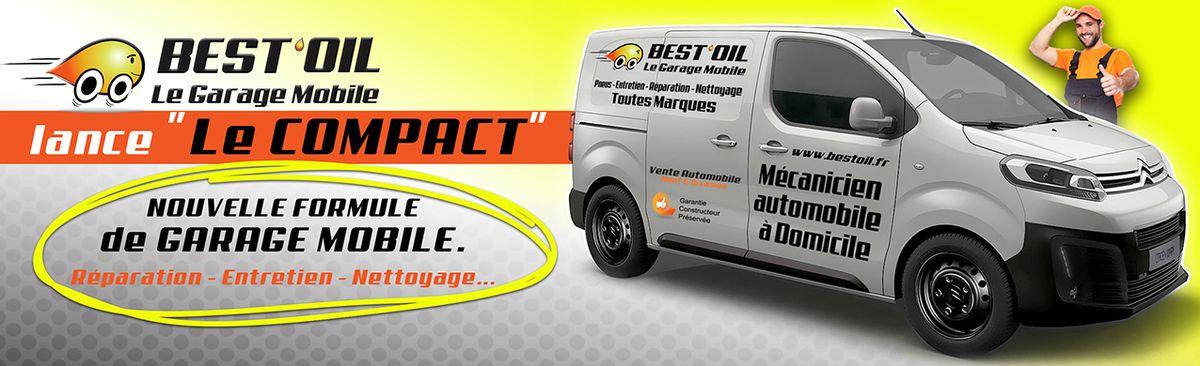 Best oil lance le compact le garage mobile urbain for Top garage franchise