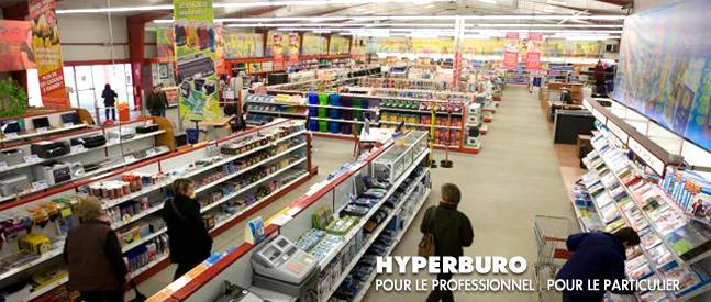 franchise Hyperburo interieur