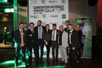 Convention nationale de l'enseigne de fitness Gigafit