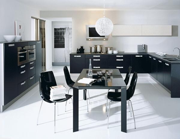 franchise cuisine cuisinella propose de vraies ambiances. Black Bedroom Furniture Sets. Home Design Ideas