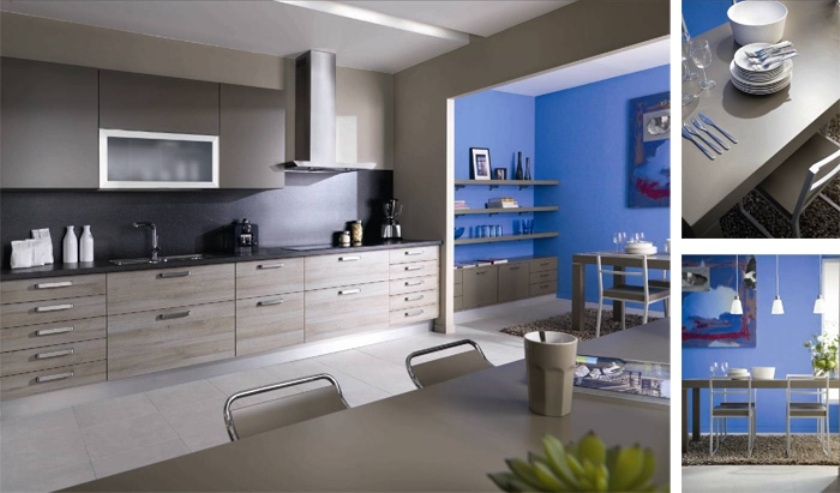 tabouret schmidt excellent vue de la zone cuisson avec le bas four et la hotte laque assortie. Black Bedroom Furniture Sets. Home Design Ideas