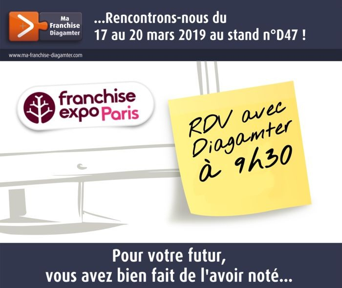 Diagamter expose à Franchise Expo