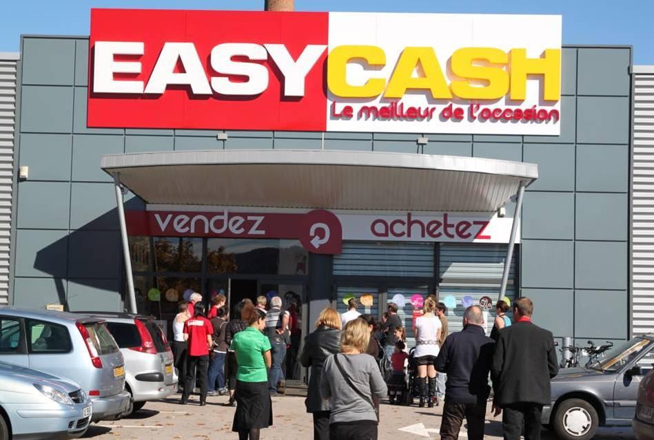 Franchise easy cash dans franchise depot vente achat for Pub cash piscine