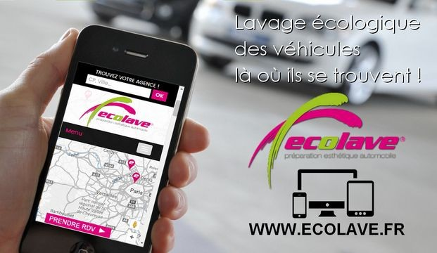 Applications mobiles Ecolave