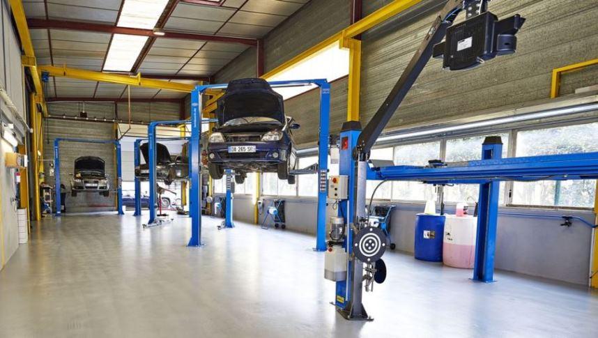 Franchise repareco dans franchise auto for Amenagement garage mecanique