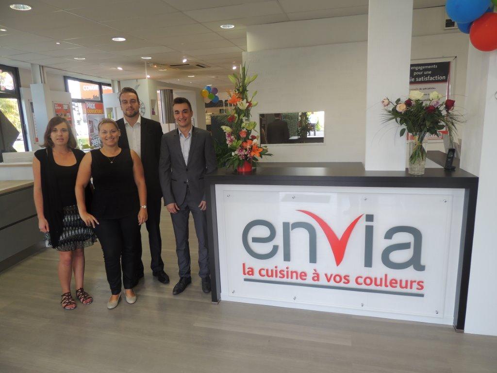 deux nouveaux magasins pour le réseau envia - Cuisiniste Chambray Les Tours
