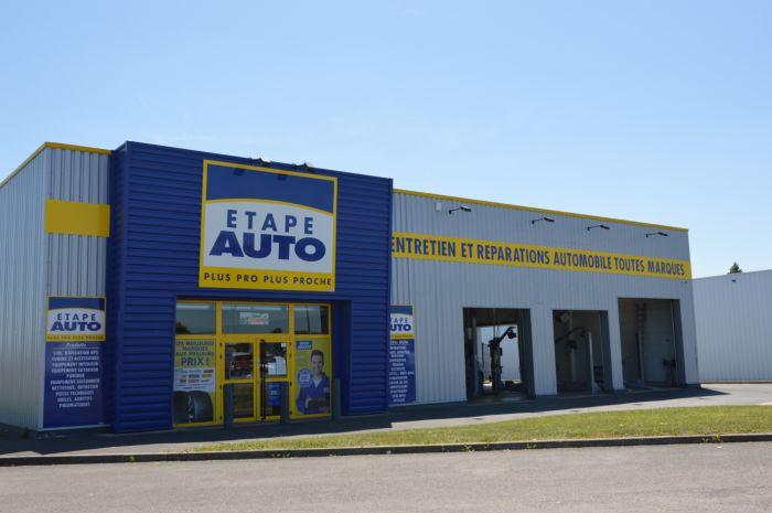 Franchise automobile etape auto ouvre un centre auto for Enseigne garage automobile