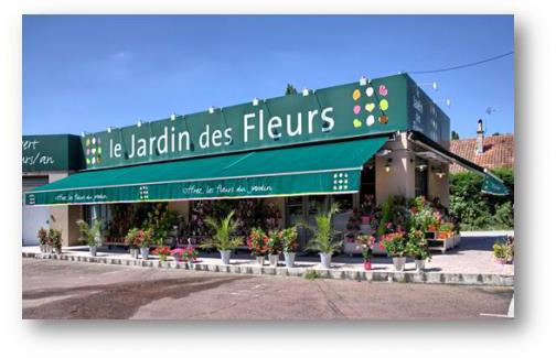 Franchise Le jardin des fleurs dans Franchise Fleurs