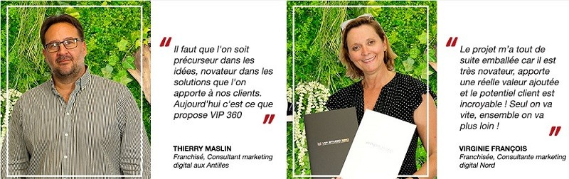 franchise groupe vip 360