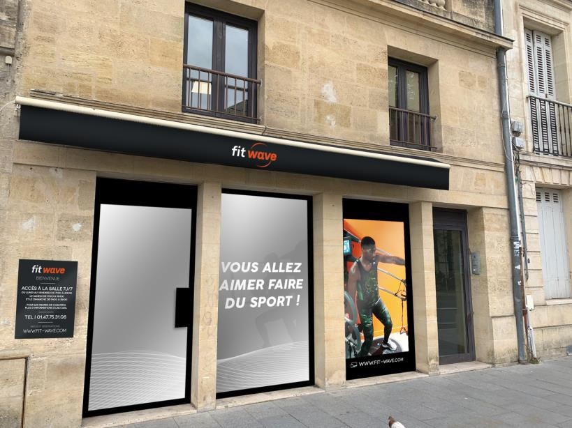 Le futur club Fitwave de Bordeaux