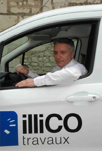 denis granier, franchisé illico travaux à chatellerault