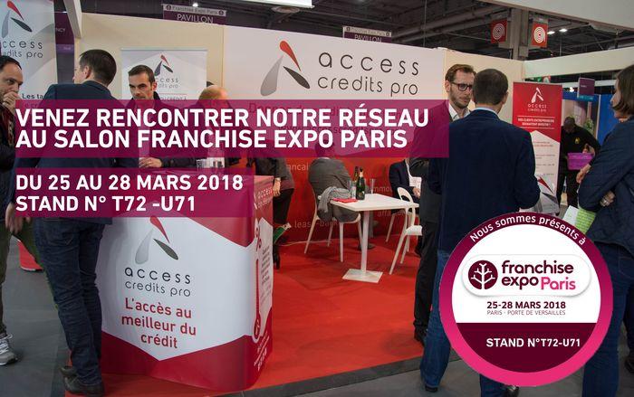 Franchise expo une 7e participation pour access credits pro - Salon de la franchise paris ...