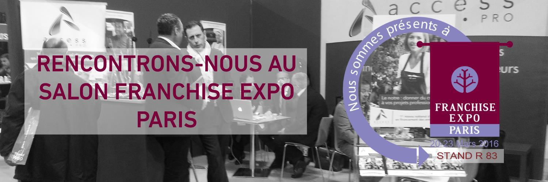 Rencontrez access credits pro au salon franchise expo - Salon de la franchise paris ...