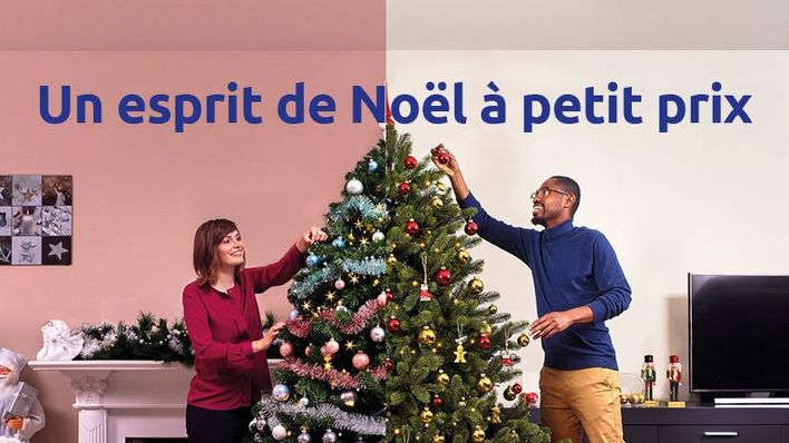 Decoration sapin noel action