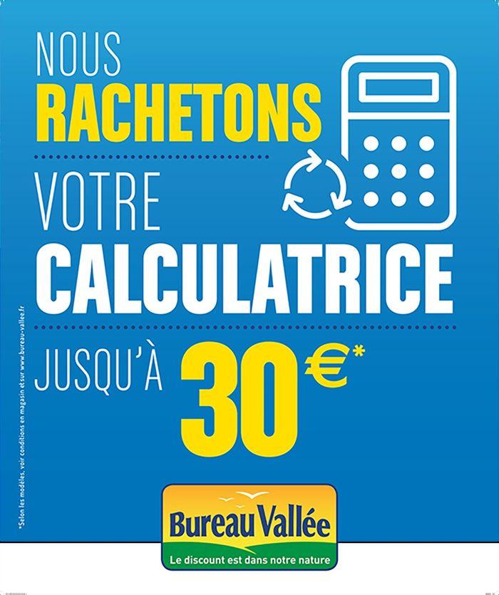 Revendre Sa Calculatrice Ou Son Cartable Bureau Vallee S Engage