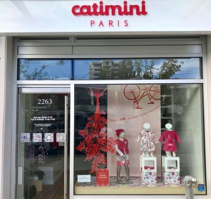 e39b1b762fb5b Catimini ouvre son premier magasin de vêtements pour enfants au Canada !