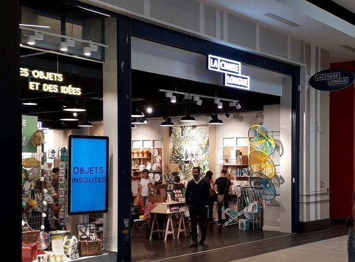 Magasin La Chaise Longue A Quimper Dans Le Centre Commercial Galerie Geant