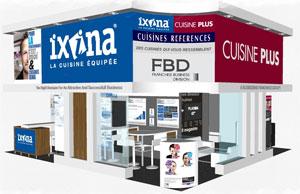 retrouvez les enseignes de cuisines quipes du groupe fbd franchise expo. Black Bedroom Furniture Sets. Home Design Ideas