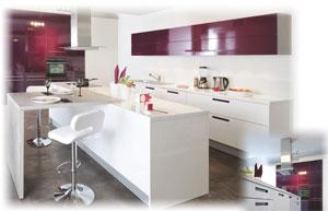 r seau cuisinella la cuisine pr t poser. Black Bedroom Furniture Sets. Home Design Ideas