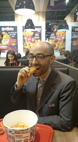 benjamin bohbot, responsable du développement de la franchise KFC en France