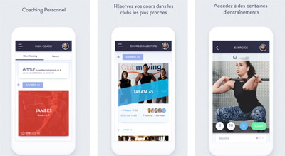 La franchise de fitness Moving lance son application Moving Me