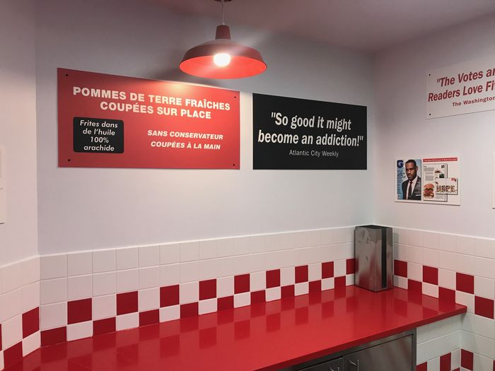 restaurant de burgers américains FIve Guys